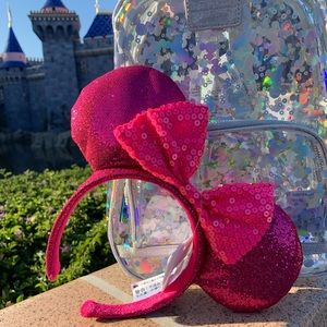 New Disney Parks Imagine Pink Minnie Headband